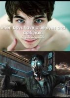 Boys with blue eyes. by TheFunnyAmerican