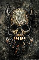 Totemic Skull by noistromo