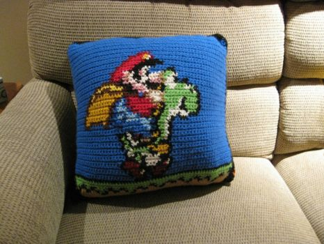 Super Mario World Pillow 4 by RTakeshi