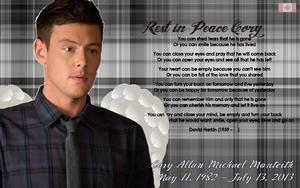R.I.P Cory (Wallpaper) by iluvlouis