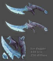 Charmed Ice Dagger by JohnMcFlurry