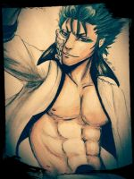 Bleach: Grimmjow Jeagerjaques by Mialuvsthemovies