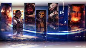 Mass Effect Wallpaper by MrAlexBad