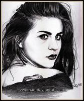 Frances Bean Cobain by zwoman