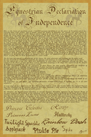 MLP Declaration of Independence by Amandkyo-Su