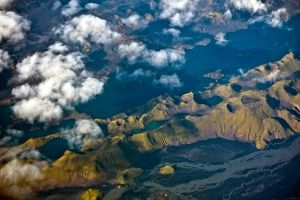Aerial view of Iceland v.2 by duvessa2