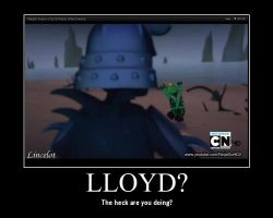 Lloyd demotivator by Lincelot1