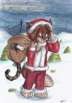 Happy Catsmas by StarlightsMarti