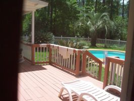 My Pool Fence by Moonfox1781