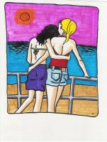Betty and Veronica by jhames34