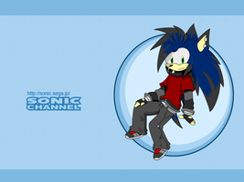 Sonic Channel-Nathan L The Hedgehog by King-Kipp