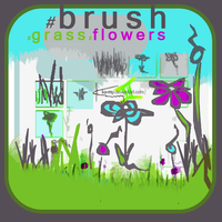 brush-grassflowers by ka-my