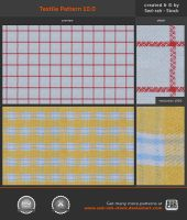 Textile Pattern 10.0 by Sed-rah-Stock
