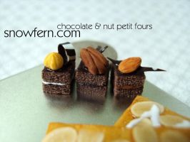 petit fours by Snowfern