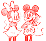 Mickey And Minnie by Celebi9