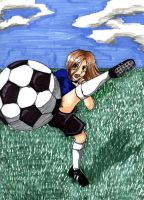 Soccer Girl by Pusskintootsiefoot