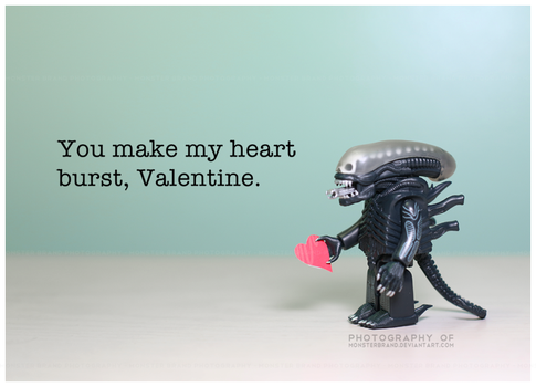 You make my heart burst - Valentine's Day 2013 by MonsterBrand