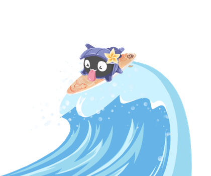 Shellder uses Surf! by MTSugarr