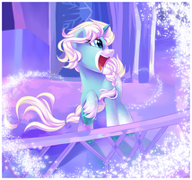 Snow Spell by Potionpony