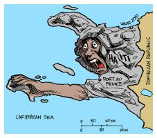 Haiti earthquake by Latuff2