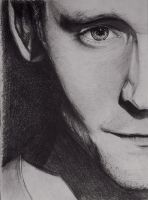 Tom Hiddleston by SilverElf25