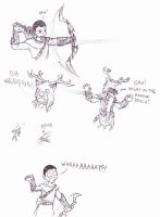 Skyrim Adventures: Archery by Cerberus123