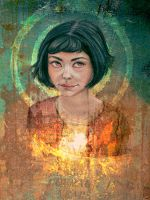 Amelie Poulain by fravenmort