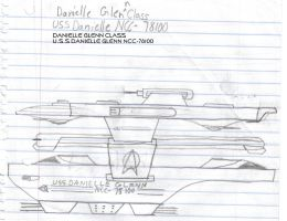 Danielle Glenn Class Paper Drawing by kaisernathan1701