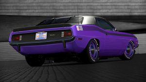 1970 Plymouth Cuda AAR 340 Six Barrel (GT6) by Vertualissimo