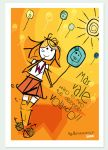 Type postal card by Aguiluz