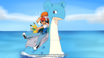 Pokeshipping Week - Day2 : If Tracey never Joined by TrainerAshandRed35