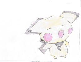 vincent the pichu tired by Virexius