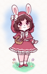 CM :: Little Red Bunny Hood by kinies