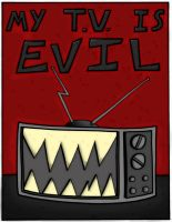 my tv is evil- cover by devilsreject493