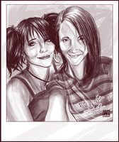 MVTS: Eve and Claire Selfie by jeminabox