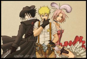 0o-Naruto_WildWest-o0 by silverteahouse