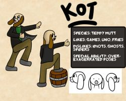 013-Profile Card- Kot the Teddy Mutt by Garakow