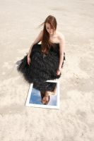 Black Gown and Mirror 05 by Lynnwest-Stock