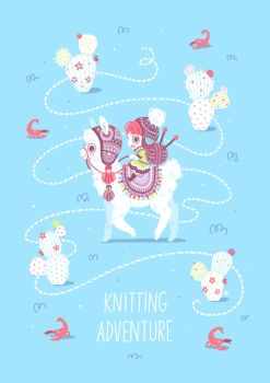 Knitting Adventure by freeminds