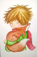 le petit prince and fox by aurangelica