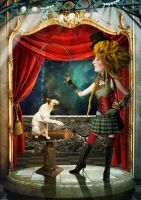 The Fearless Cat Tamer by Digimaree