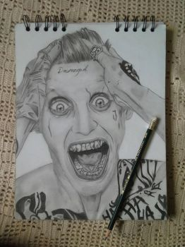 Joker - Jared Leto by Ventus099