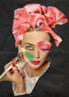 trendy make-up by April-Mo