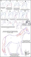 Draw A Horse by Senshee