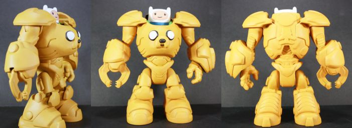Adventure Time Jake Suit 2.0 by kodykoala
