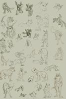 Animal Dump by Clairictures