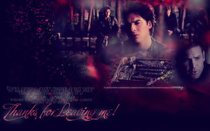 Damon and Alaric Wallpaper by x3Destinyx3