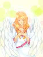 An Angel by chisacha