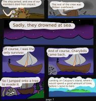 The Odyssey: Book XII: Pg 7 by TeaDrinkingCat