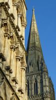 Salisbury Cathedral III by aberlioness